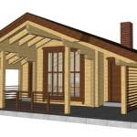 Masivna lesena hiša Petra 13