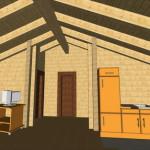 Masivna lesena hiša Petra 15