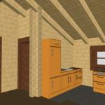 Masivna lesena hiša Petra 16