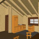 Masivna lesena hiša Petra 17