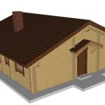 Masivna lesena hiša Romana 5