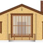 Masivna lesena hiša Romana 6