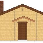 Masivna lesena hiša Romana 7