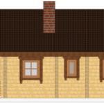 Masivna lesena hiša Romana 8