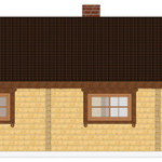 Masivna lesena hiša Romana 9