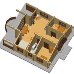 Masivna lesena hiša Romana 11
