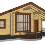 Masivna lesena hiša Romana 14