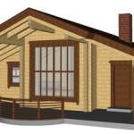 Masivna lesena hiša Romana 15