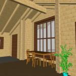 Masivna lesena hiša Romana 20