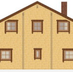 Masivna lesena hiša Sabina 7