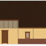 Masivna lesena hiša Sabina 8