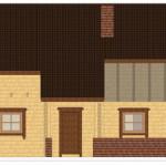 Masivna lesena hiša Sabina 9