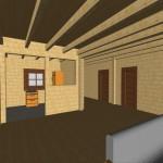 Masivna lesena hiša Sabina 16