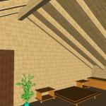 Masivna lesena hiša Sabina 19