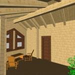 Masivna lesena hiša Sabina 20