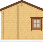 Masivna lesena hiša Silvia 7