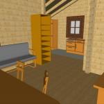 Masivna lesena hiša Silvia 15