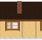 Masivna lesena hiša Tereza 6