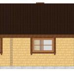 Masivna lesena hiša Tereza 7