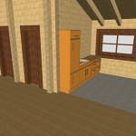 Masivna lesena hiša Tereza 16