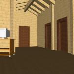 Masivna lesena hiša Tereza 17