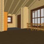 Masivna lesena hiša Tereza 19