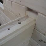 Masivne lesene hiÅ¡e – brunarice / konstrukcijske reÅ¡itve 9