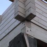 Masivne lesene hiÅ¡e – brunarice / konstrukcijske reÅ¡itve 1