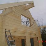 Masivne lesene hiÅ¡e – brunarice / konstrukcijske reÅ¡itve 7