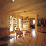 Masivne lesene hiÅ¡e – brunarice / notranjost 18