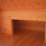 Masivne lesene hiÅ¡e – brunarice / notranjost 29