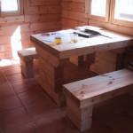 Masivne lesene hiÅ¡e – brunarice / notranjost 32