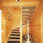 Masivne lesene hiÅ¡e – brunarice / notranjost 37