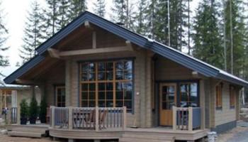 Masivne lesene hiše - brunarice / postavljeni objekti