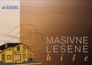 Masivne lesene hiše - katalog